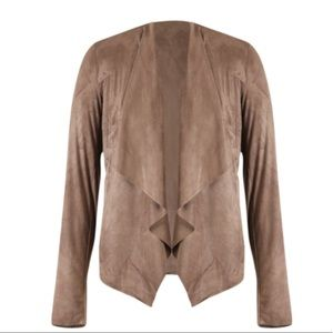 🍁kut from Kloth Hudson faux suede draped jacket🍁